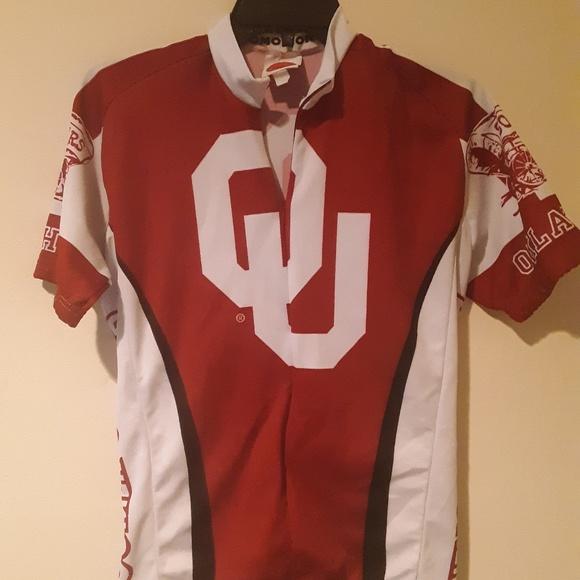 buy online 931b1 c5968 University of Oklahoma Bike Jersey